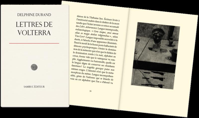 Image du livre: Lettres de Volterra, par Delphine Durand (1)