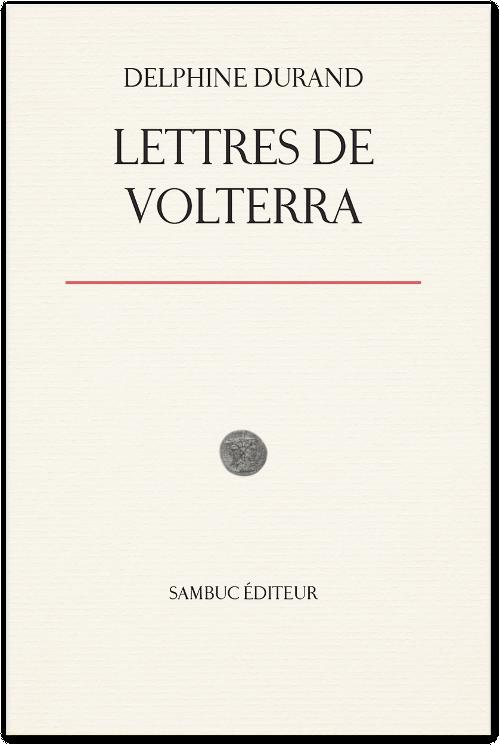 (Couverture : Lettres de Volterra)