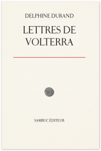 Couverture : Lettres de Volterra