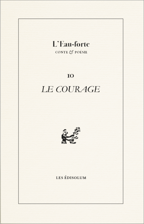(Couverture : Le courage)