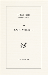 Couverture : Le courage