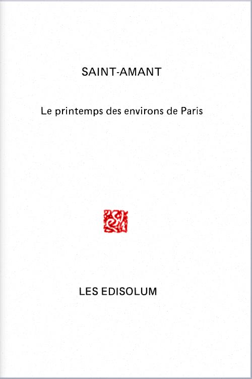(Couverture : Le Printemps des environs de Paris )