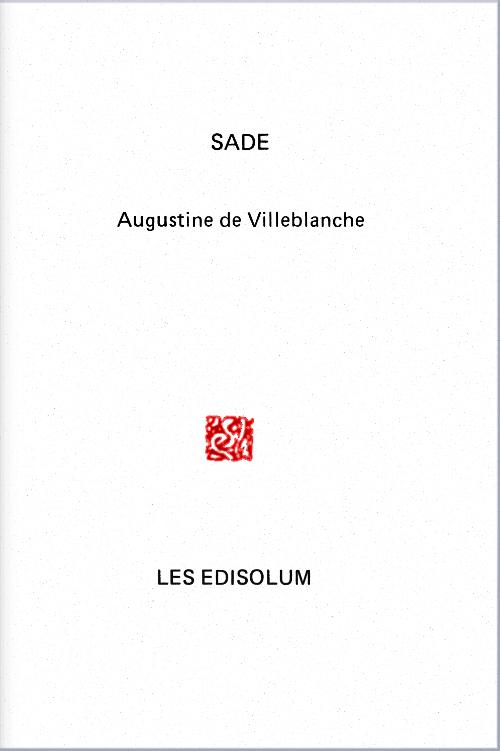 (Couverture : Augustine de Villeblanche)