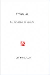 Couverture : Les Tombeaux de Corneto